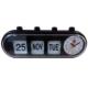 GMH Alarm Clock – Manual Retro Capsule (Black)