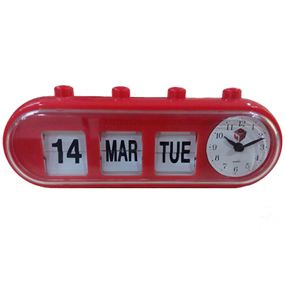 GMH Alarm Clock – Manual Retro Capsule (Red)