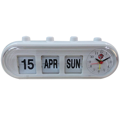 GMH Alarm Clock – Manual Retro Capsule (White)