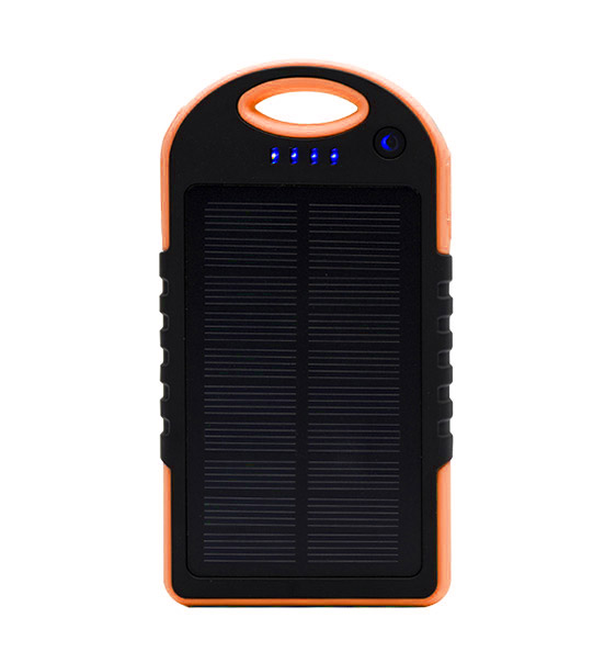 GMH Solar Panel Charger – 8000mAh – Orange