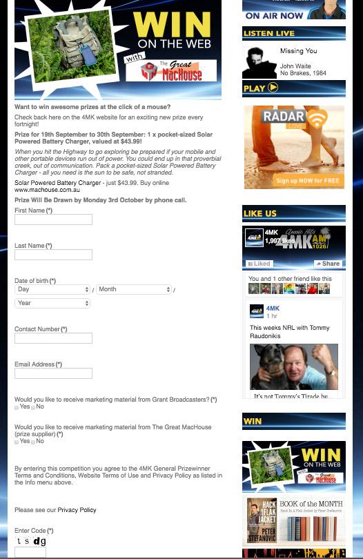 4MK Radio Win Giveaway