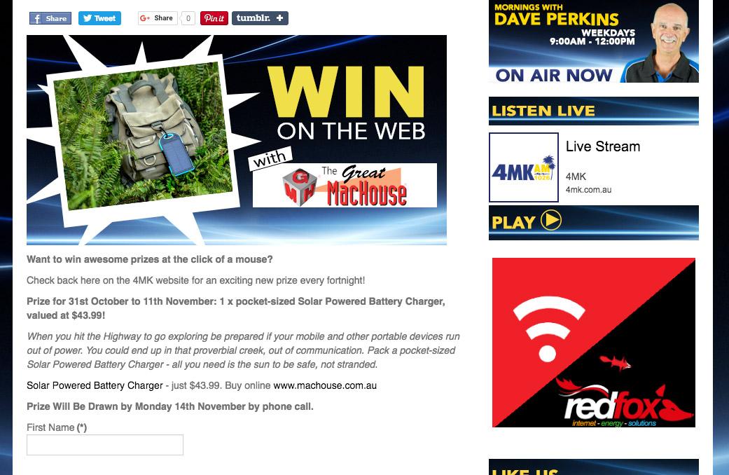 4MK Radio Queensland 1026AM Great Machouse