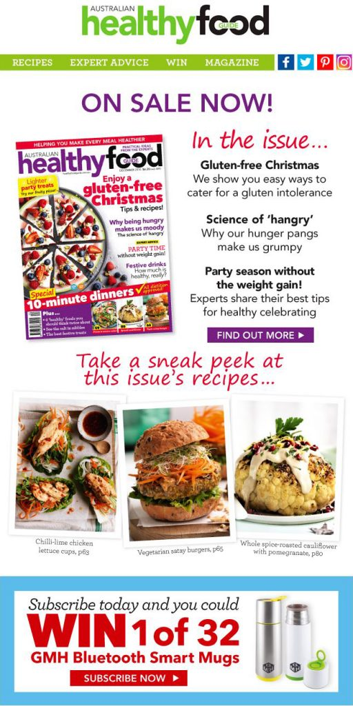 Australian Healthy Food Guide December 2016